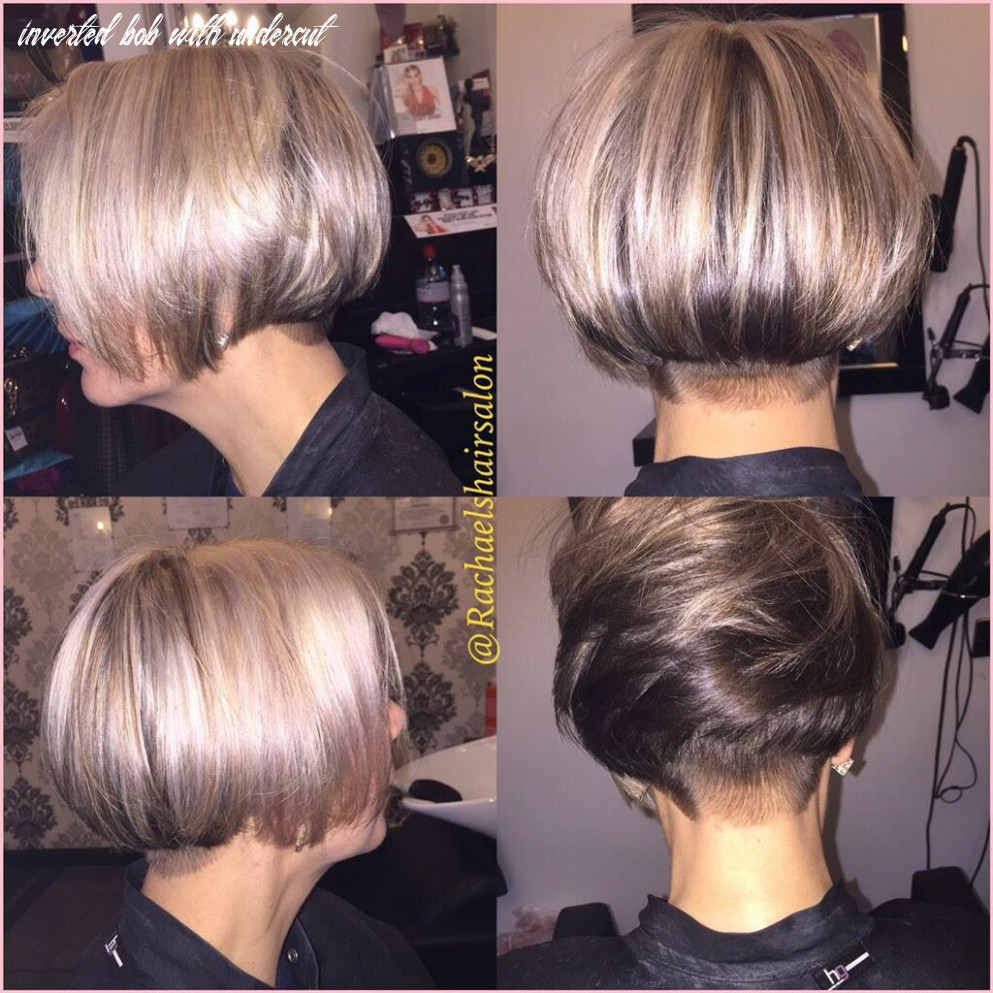 Pin on hair, nails, and clothes inverted bob with undercut