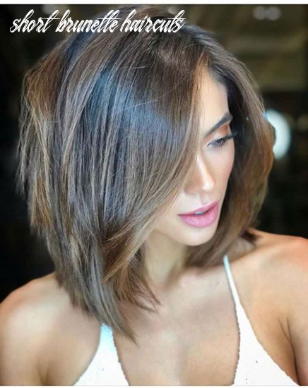 Pin on hair short brunette haircuts