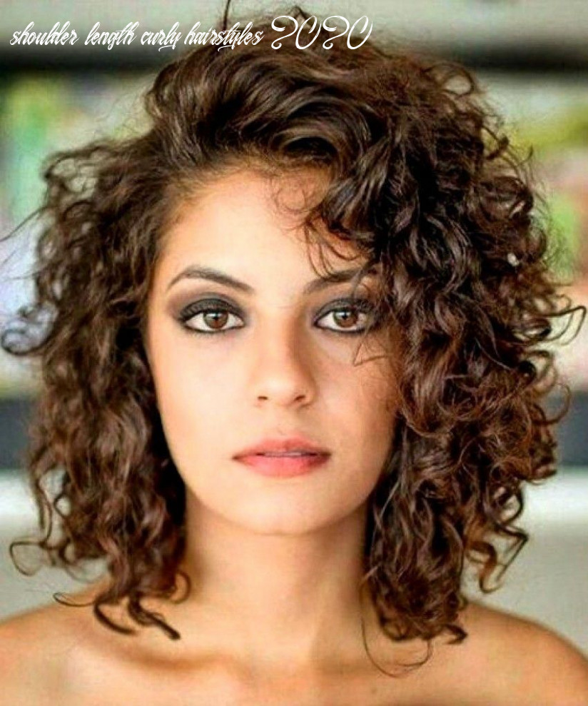 Pin on hair shoulder length curly hairstyles 2020