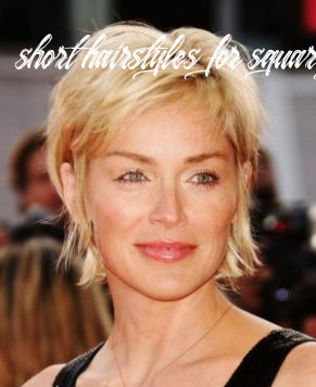 Pin on hair style and hair trend short hairstyles for square faces over 50