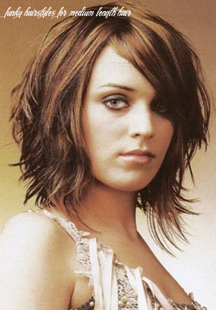 Pin on hair style funky hairstyles for medium length hair