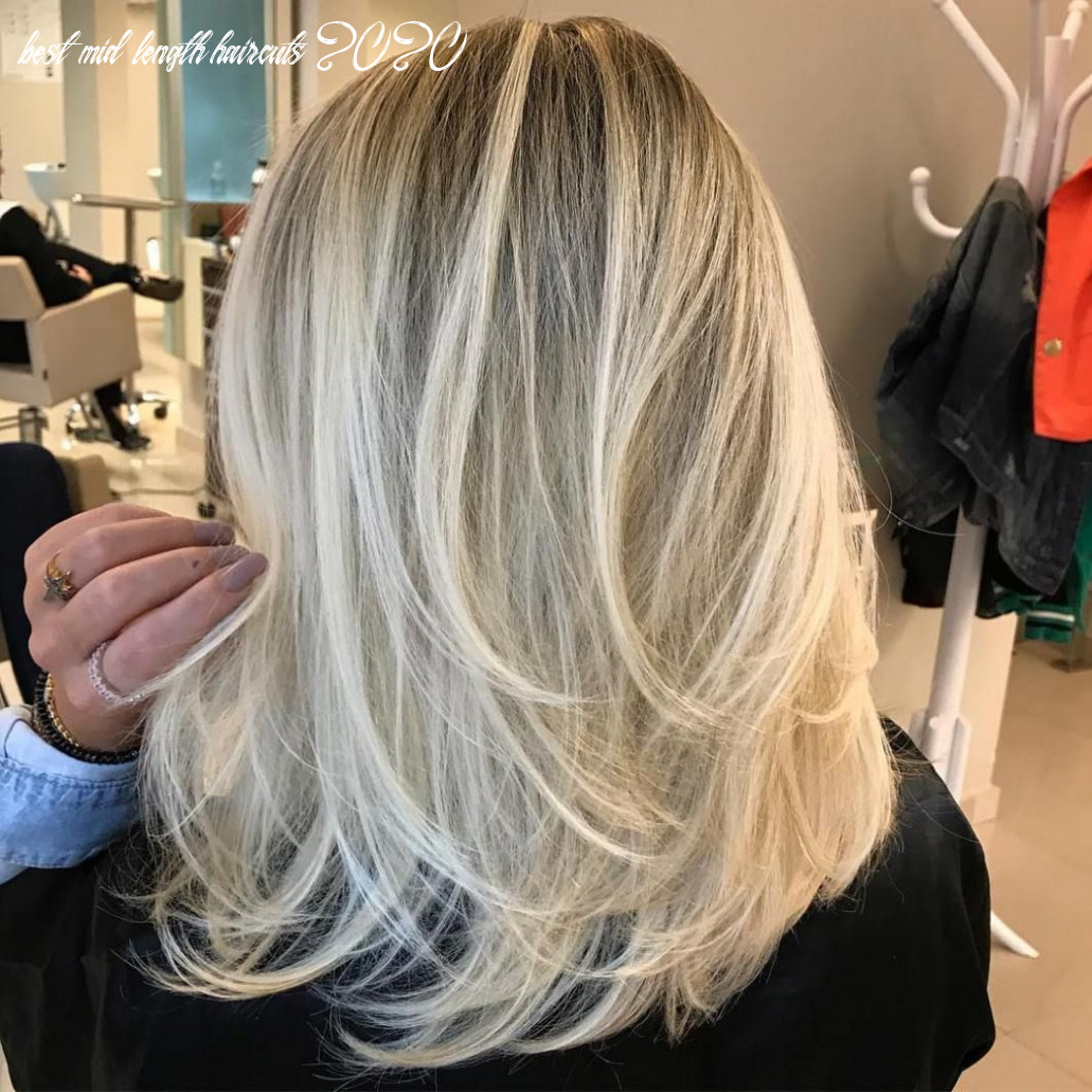 Pin on hair styles best mid length haircuts 2020