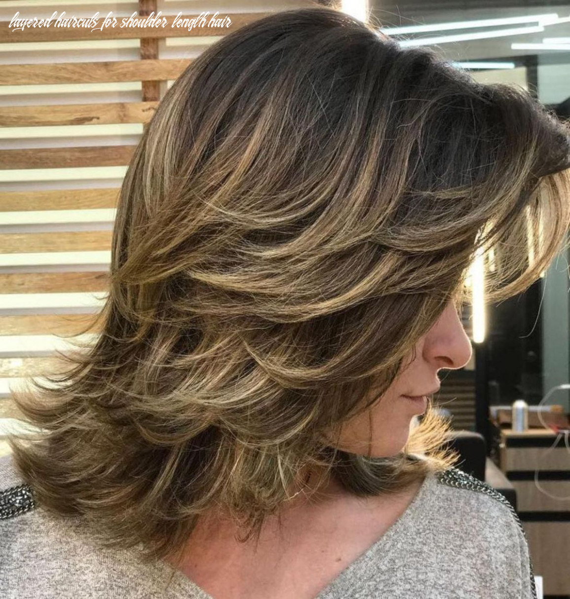 Pin on hair styles layered haircuts for shoulder length hair