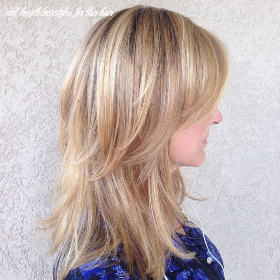 Pin on hair styles mid length hairstyles for thin hair