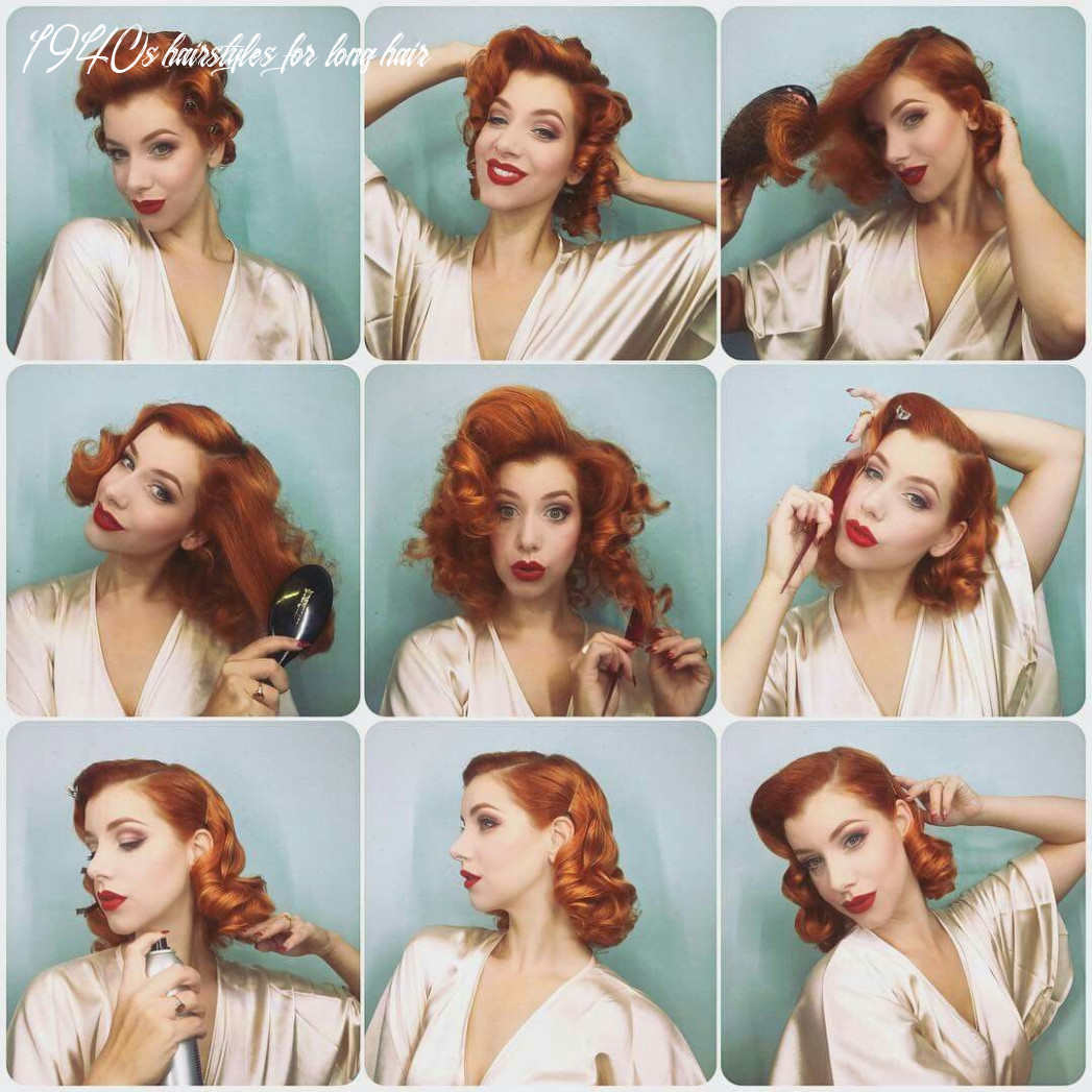 Pin on hair things to try 1940s hairstyles for long hair