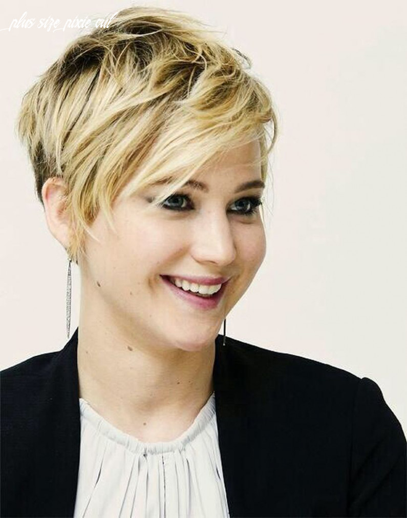 Pin on haircut and style plus size pixie cut