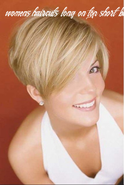 Pin on haircuts short in back longer from front womens haircuts long on top short back and sides