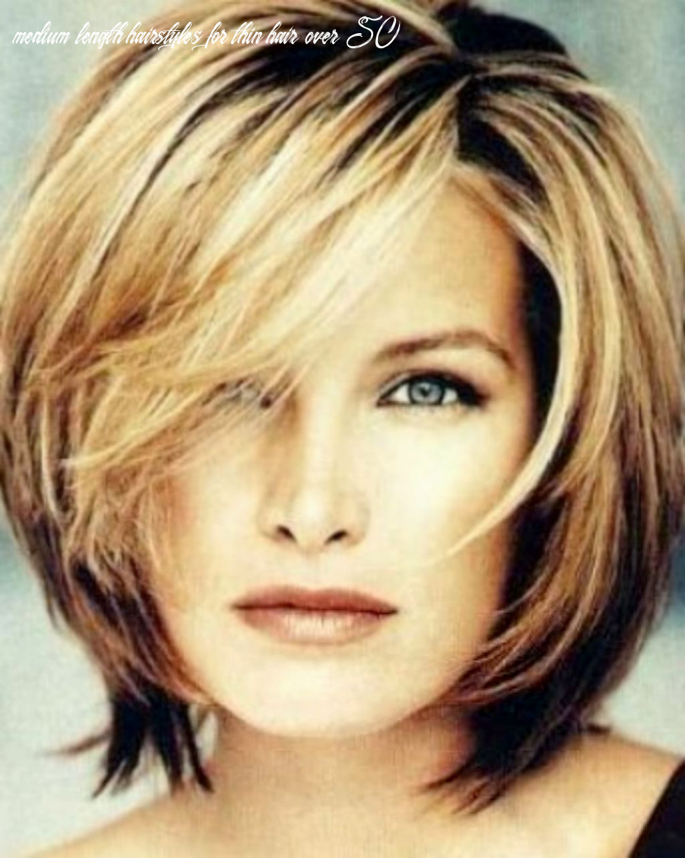 Pin on hairstyle medium length hairstyles for thin hair over 50