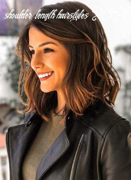 Pin on hairstyles 11 shoulder length hairstyles 2020 female
