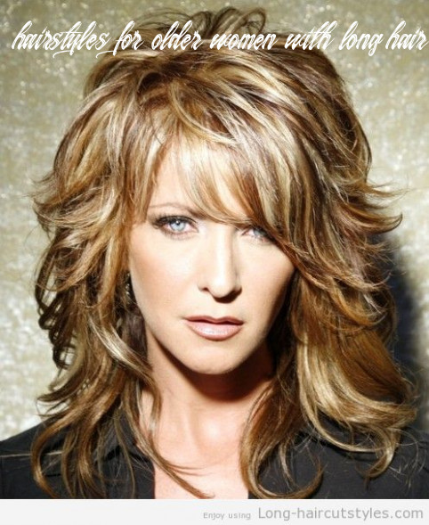 Pin on hairstyles for me hairstyles for older women with long hair