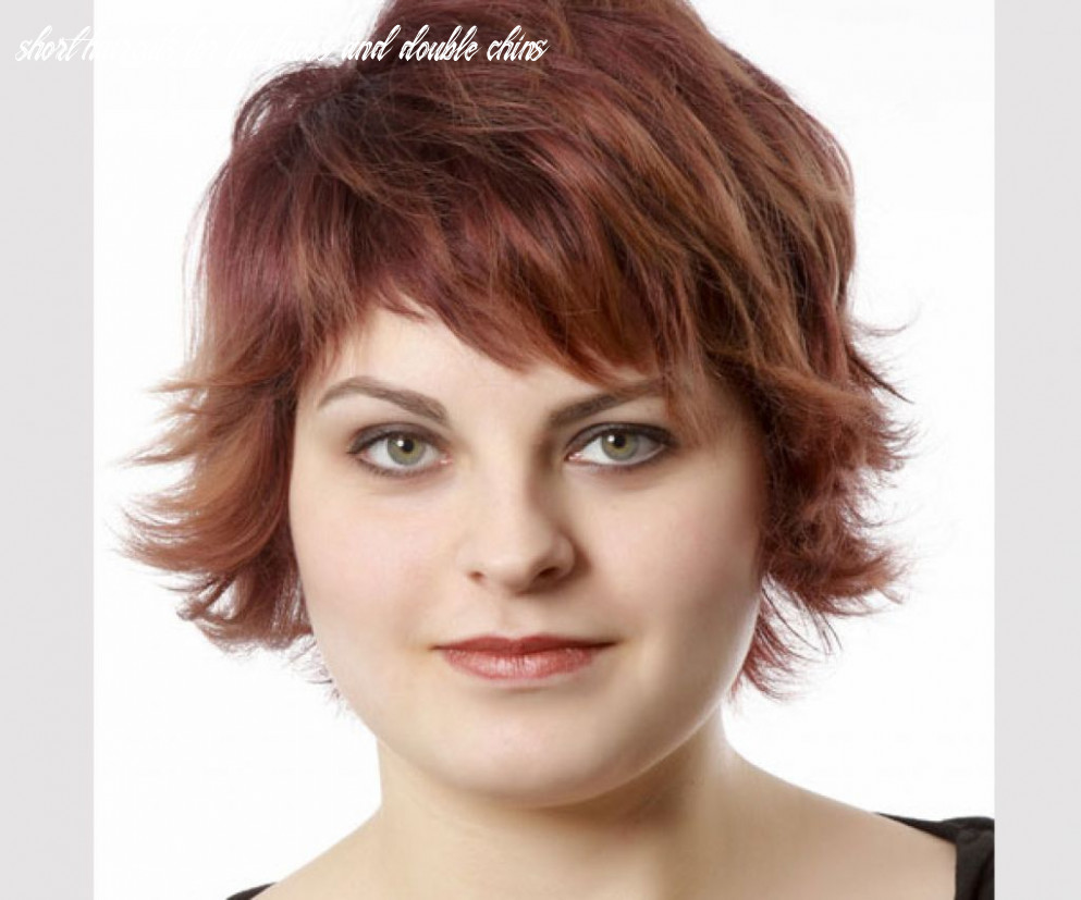 12 short haircuts for fat faces and double chins
