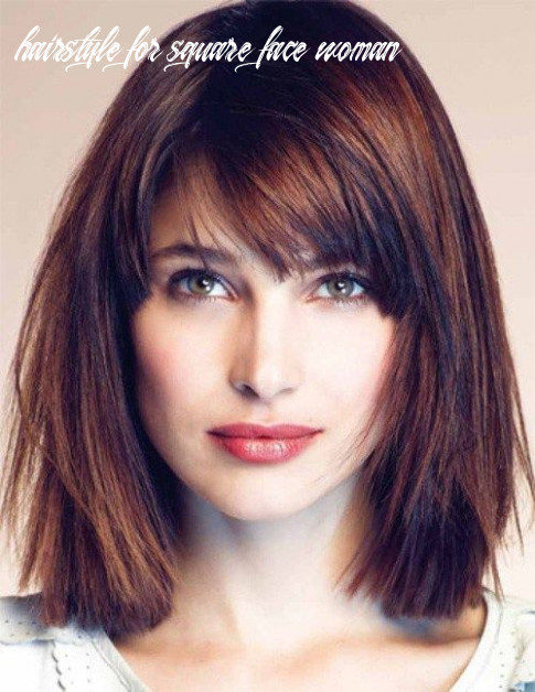 Pin on hairstyles hairstyle for square face woman