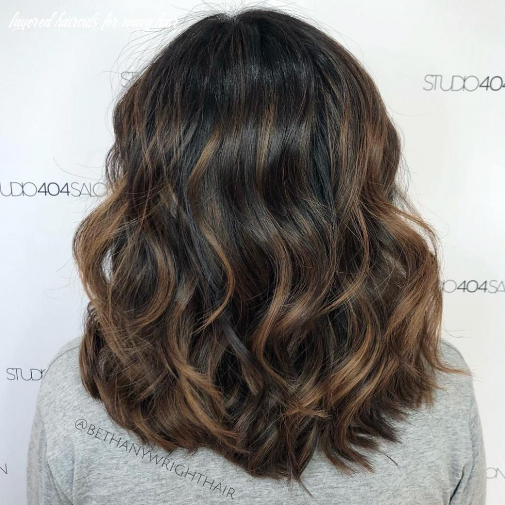 Pin on hairstyles layered haircuts for wavy hair