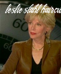 Pin on hairstyles leslie stahl haircut