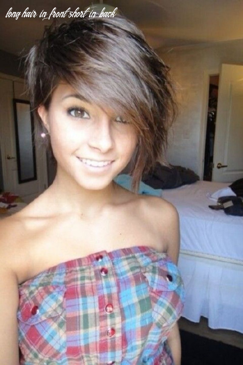 Pin on hairstyles long hair in front short in back