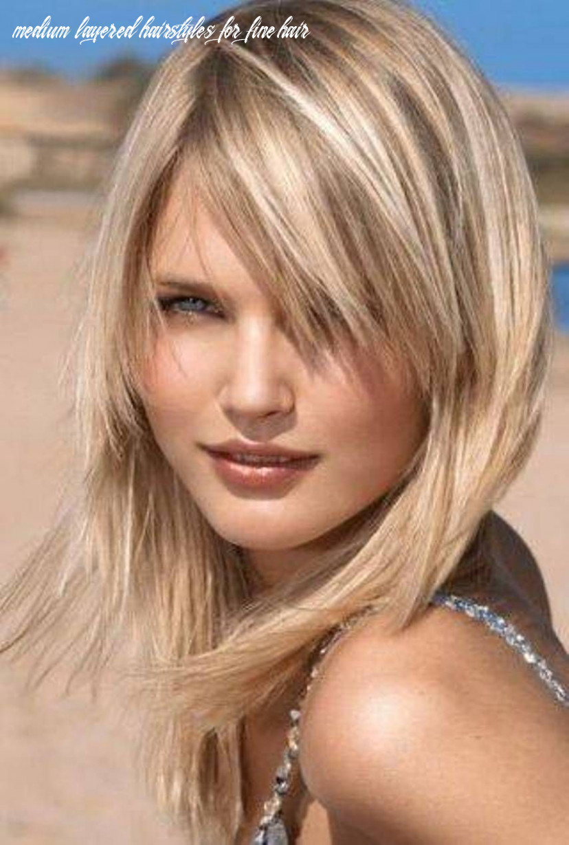 Pin on hairstyles medium layered hairstyles for fine hair