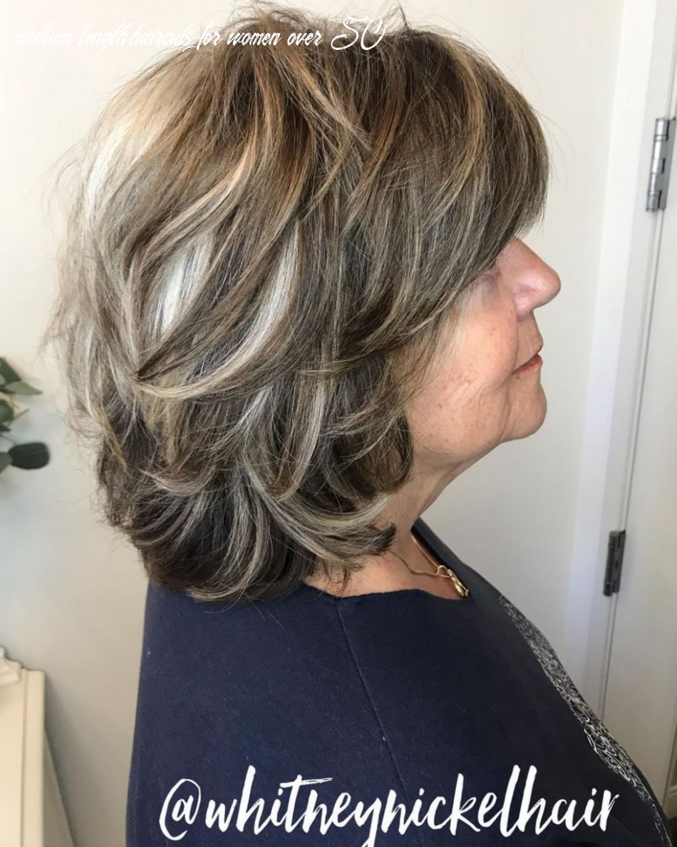 Pin on hairstyles medium length haircuts for women over 50