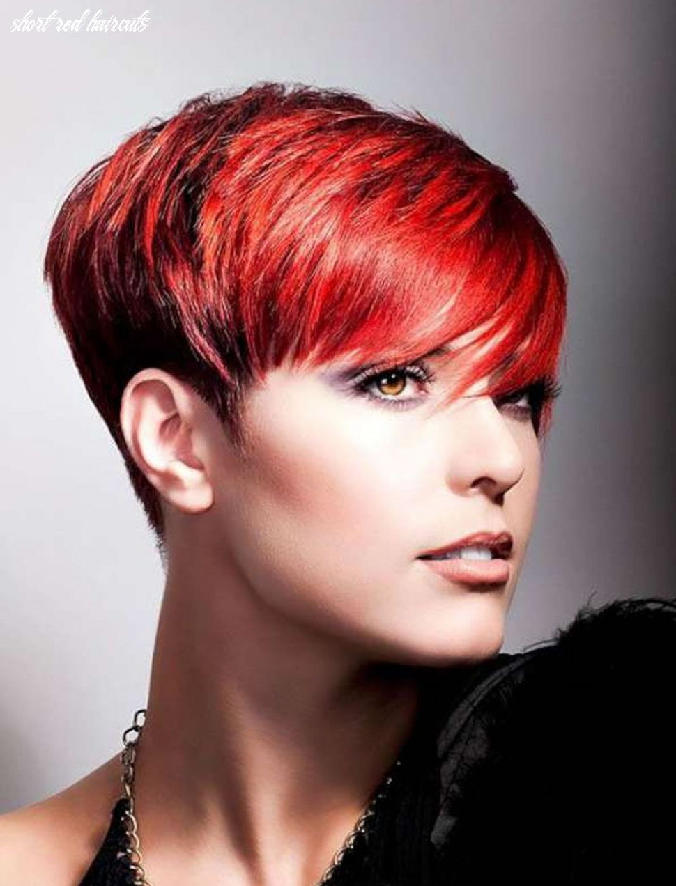 Pin on hairstyles short red haircuts