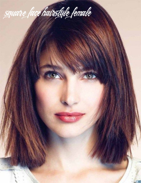 Pin on hairstyles square face hairstyle female