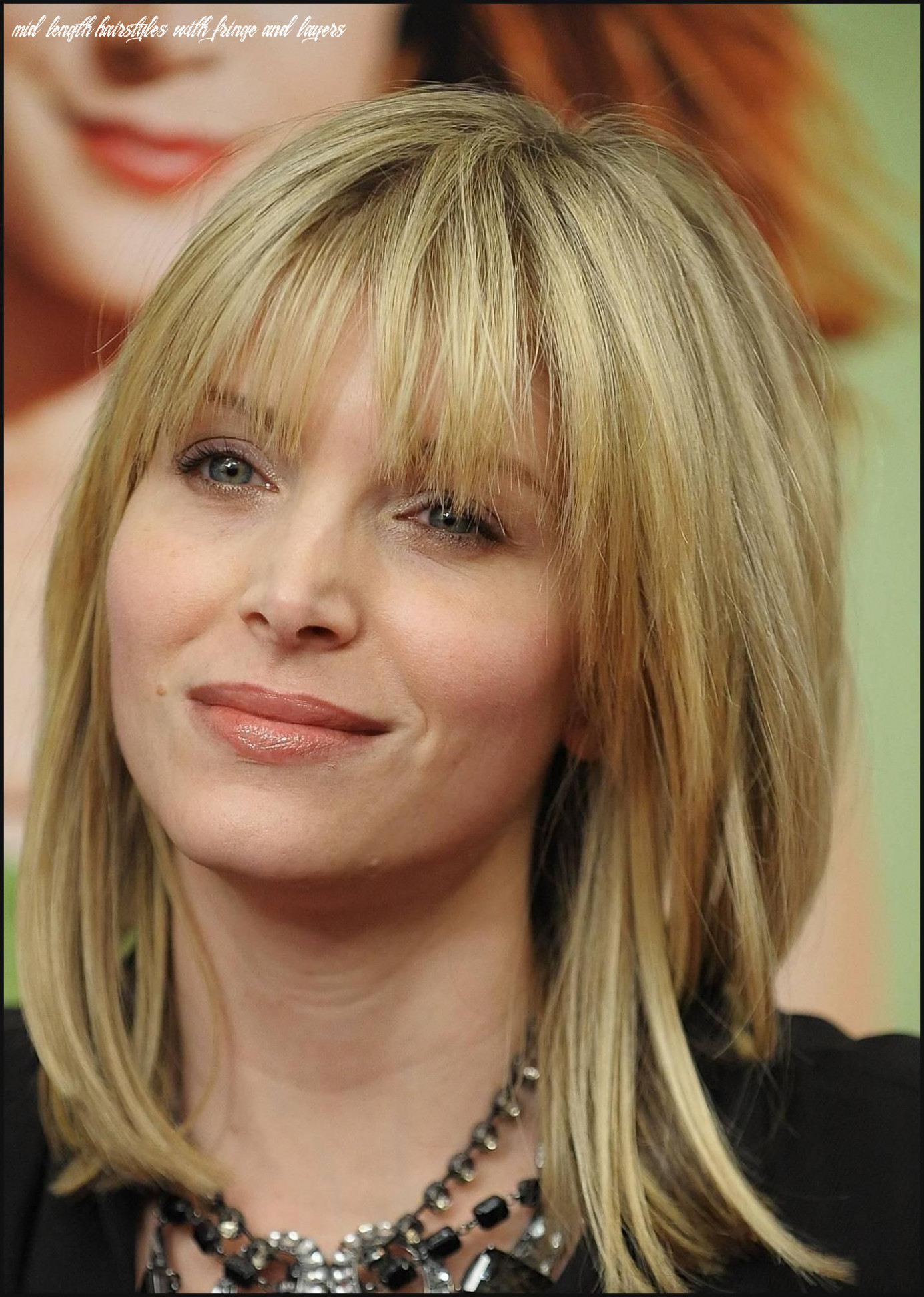 Pin on hot hairstyles mid length hairstyles with fringe and layers
