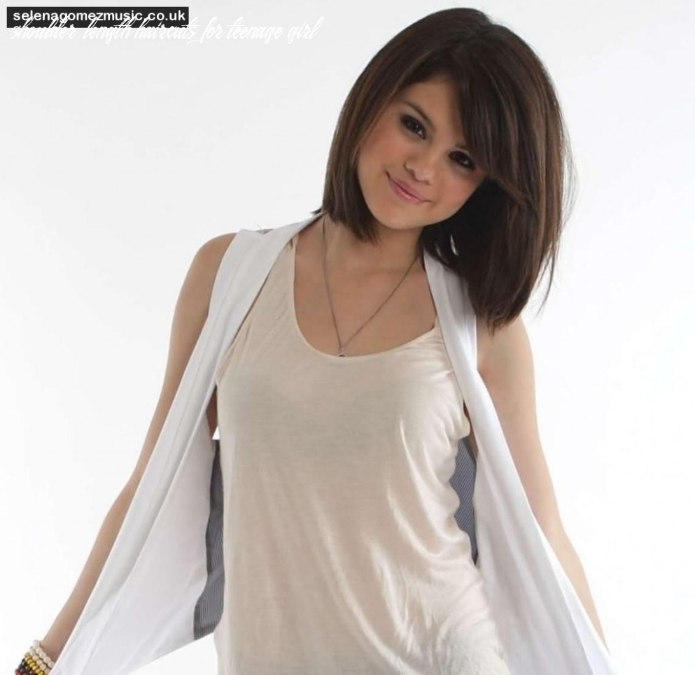 Pin on ideas shoulder length haircuts for teenage girl