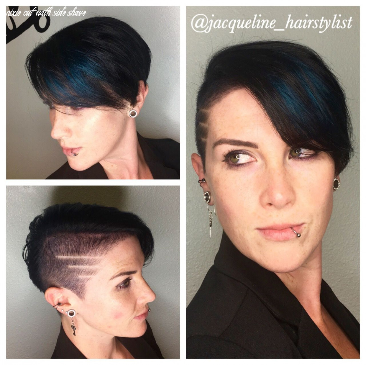 Pin on jacqueline hairstylist pixie cut with side shave