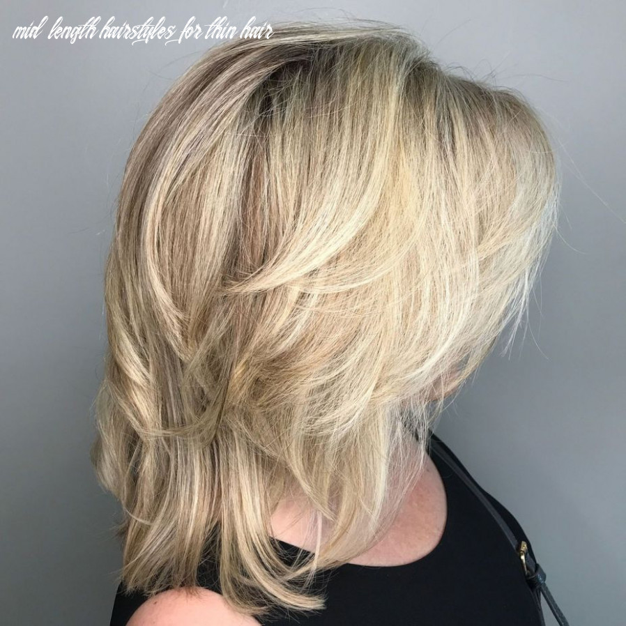 Pin on just hair mid length hairstyles for thin hair