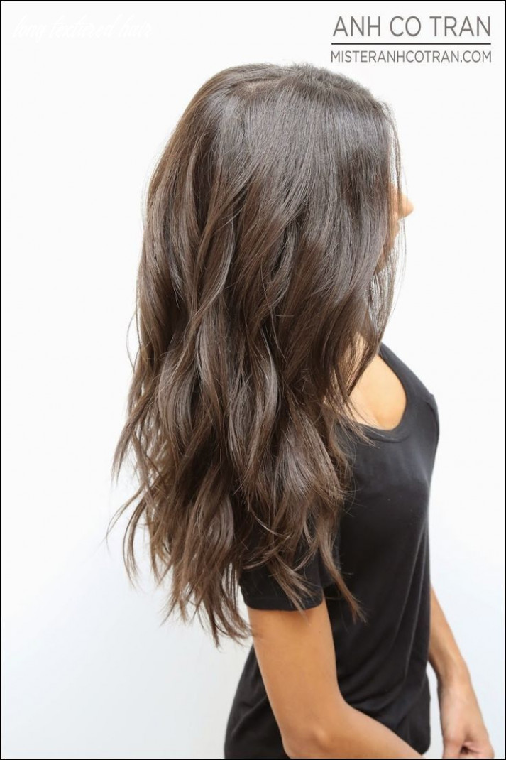 Pin on long hairstyle long textured hair