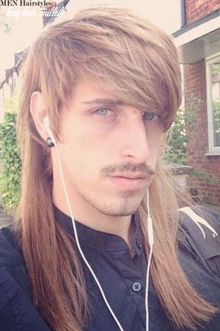 Pin on long hairstyles for men long hair mullet