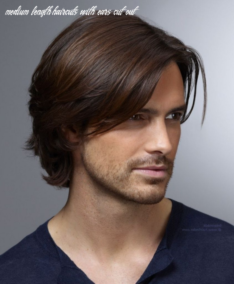 Pin on looks medium length haircuts with ears cut out