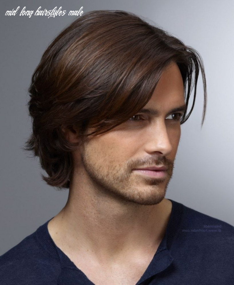 Pin on looks mid long hairstyles male
