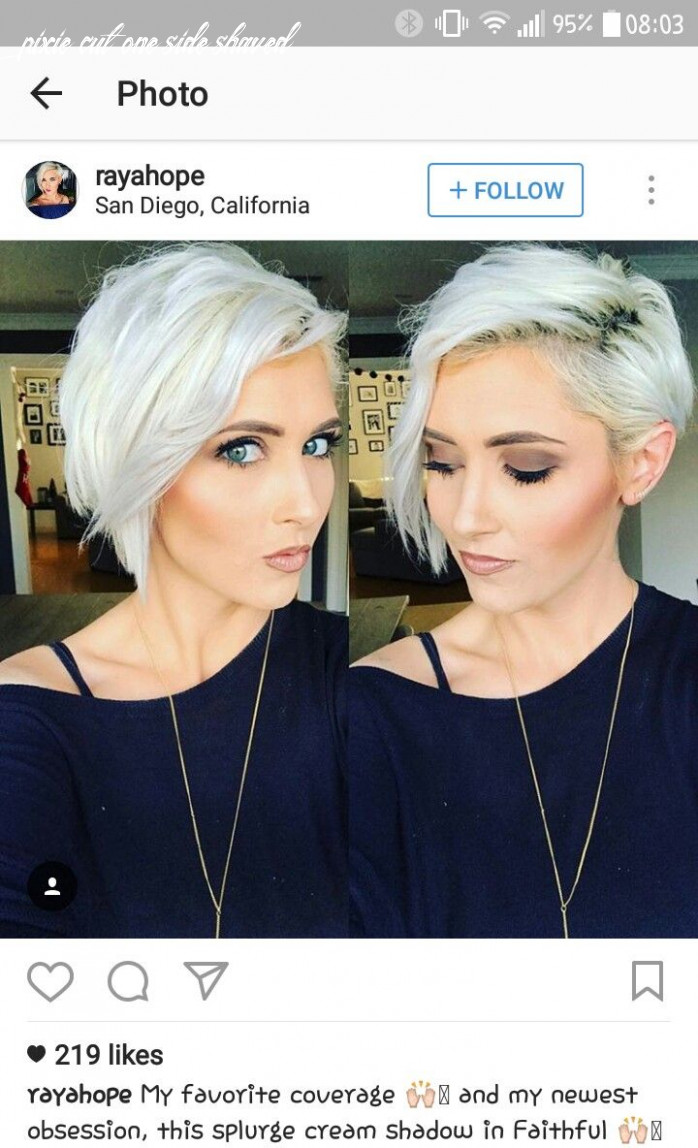 Pin on lovely hair styles pixie cut one side shaved