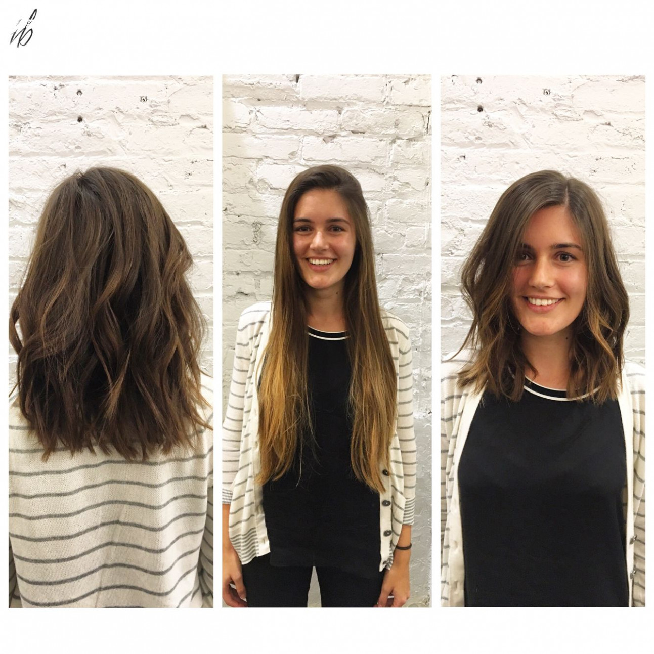 Pin on mastered mid length from long hair to short hair