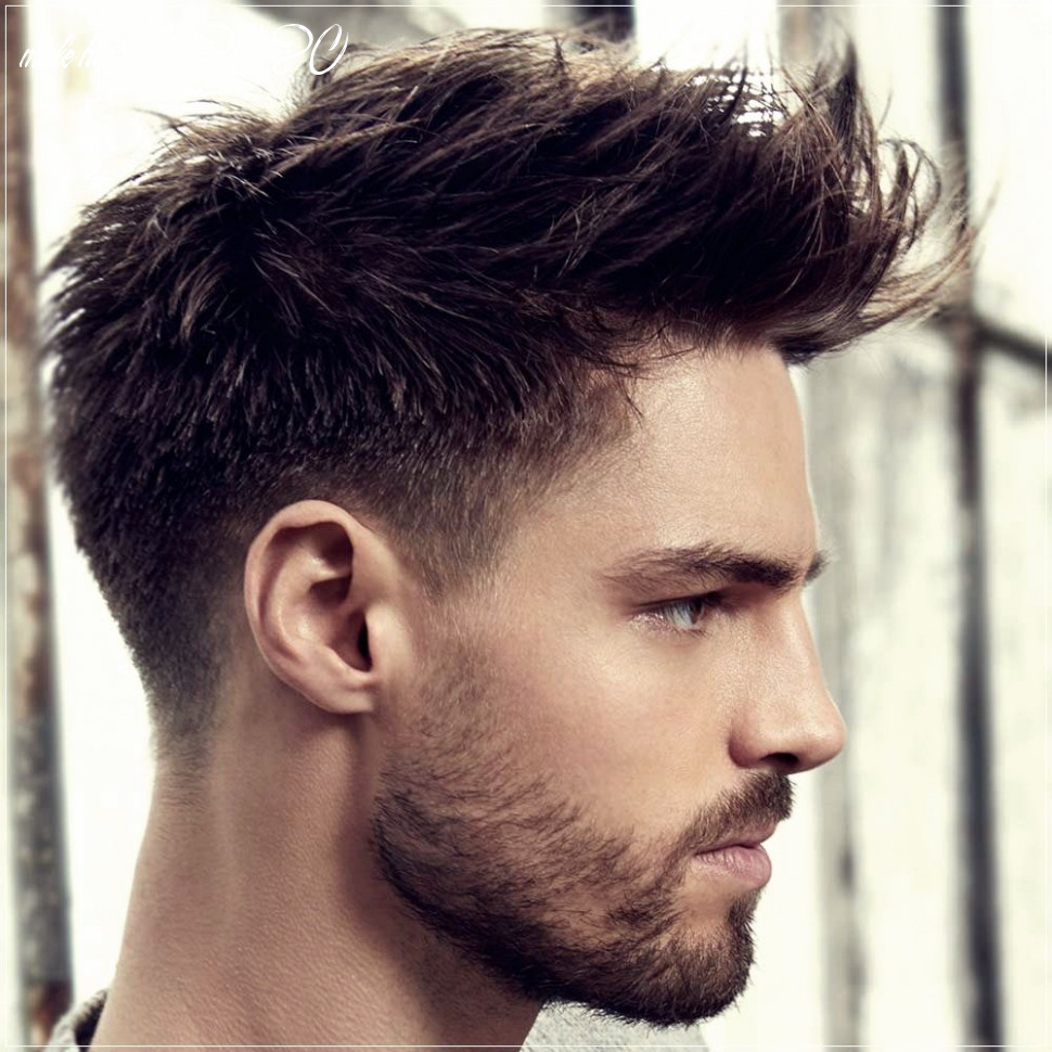 Pin on men haircuts 12 male hairstyle 2020