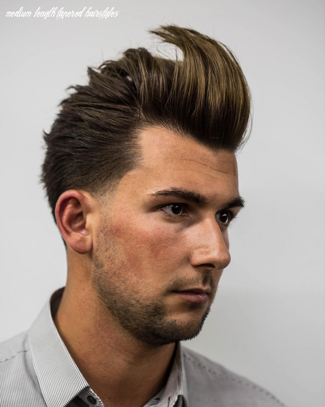 Pin on mens hairstyles medium length tapered hairstyles