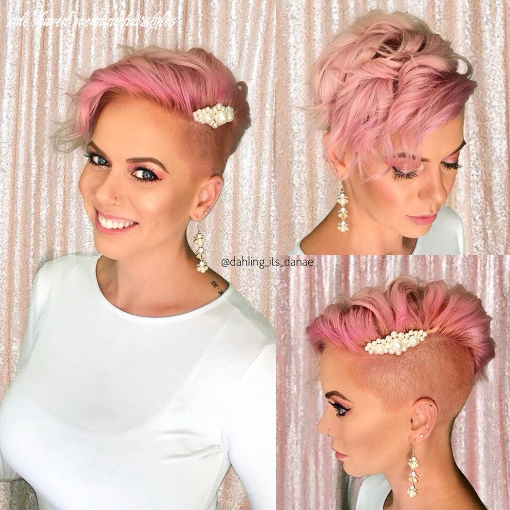 Pin on my hair!!! side shaved wedding hairstyles