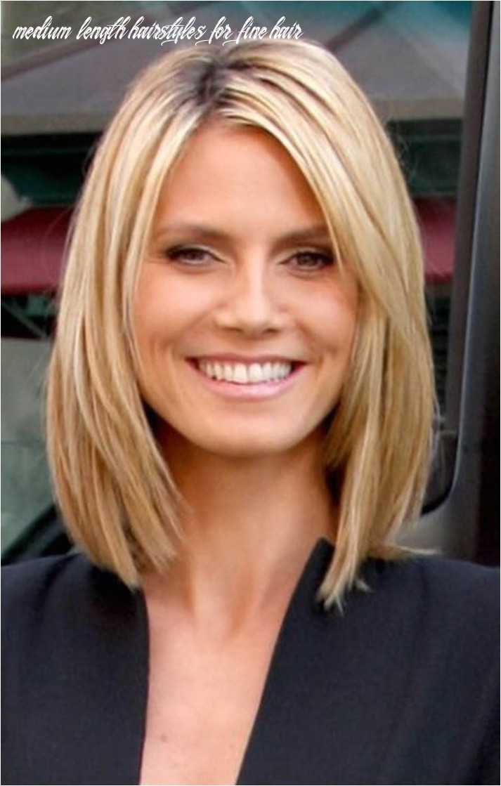 Pin on my style medium length hairstyles for fine hair