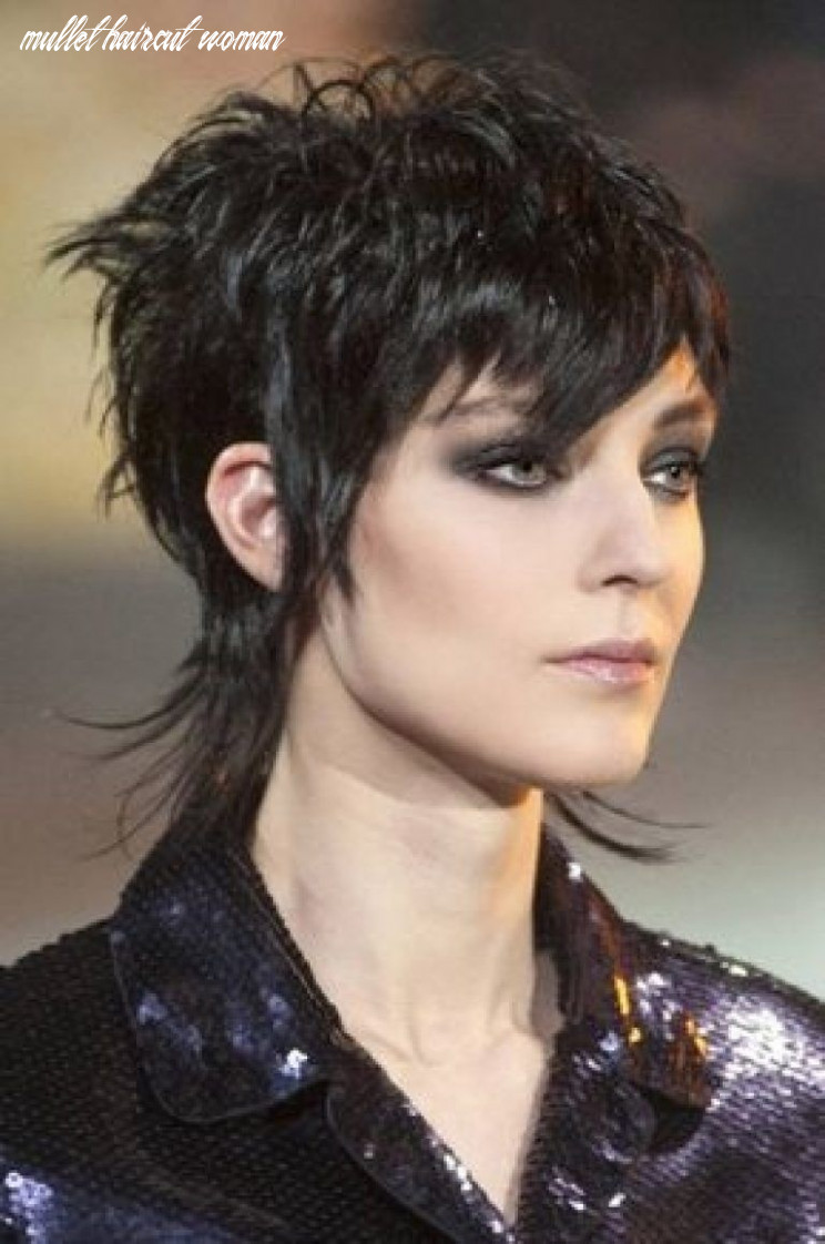 Pin on my style mullet haircut woman