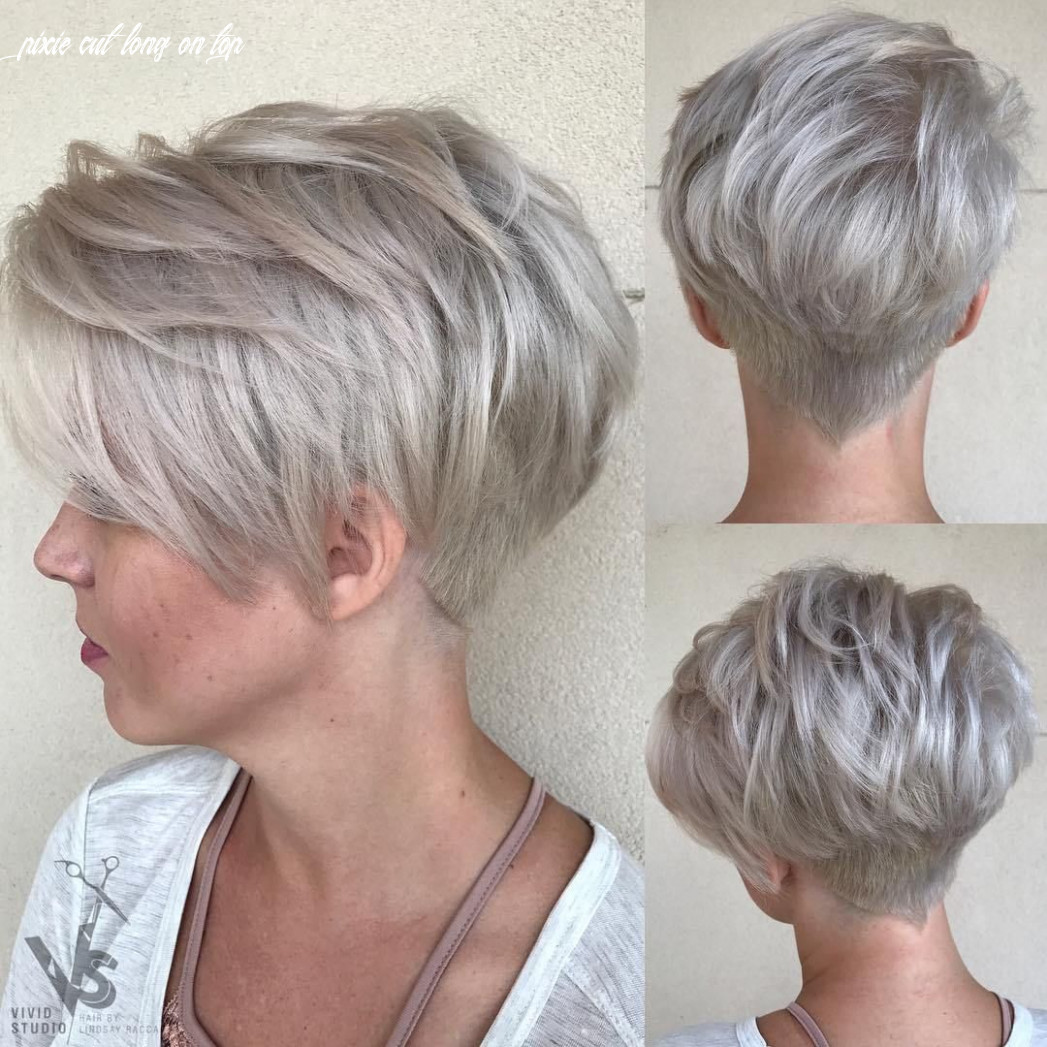 Pin on pixie cuts pixie cut long on top