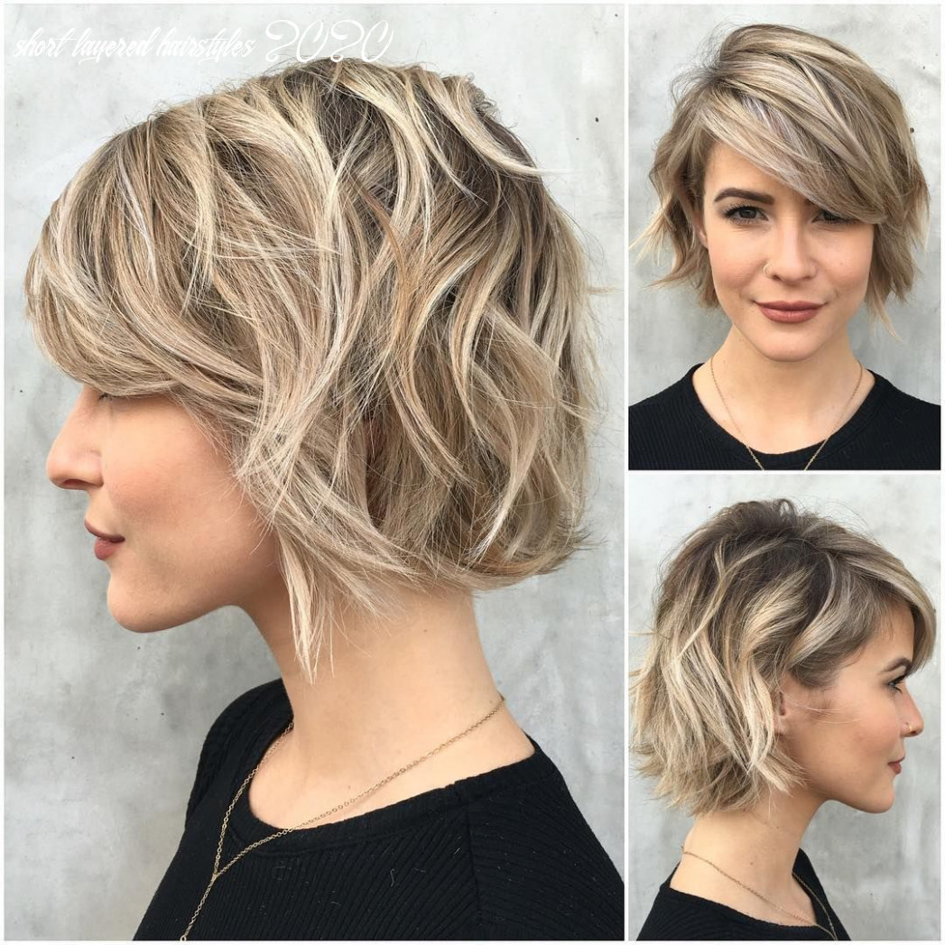 Pin on short hair short layered hairstyles 2020
