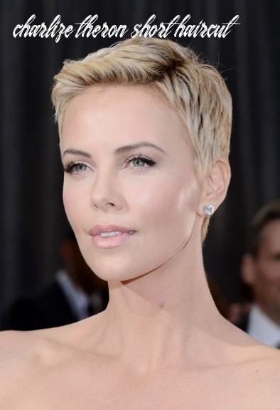 Pin on short hair styles charlize theron short haircut