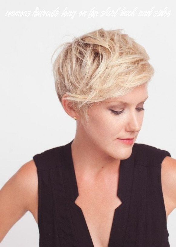 Pin on short hair womens haircuts long on top short back and sides