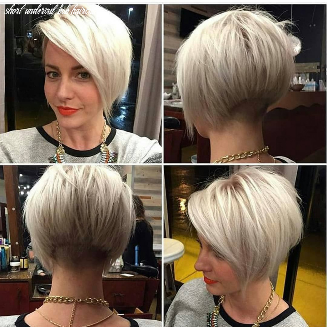 Pin on short hairstyles for fine hair short undercut bob haircut