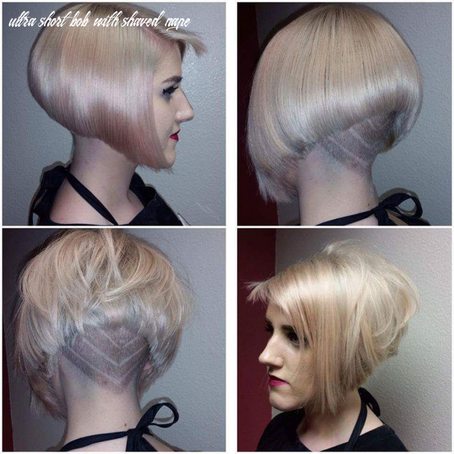 Pin on short inverted bobs ultra short bob with shaved nape