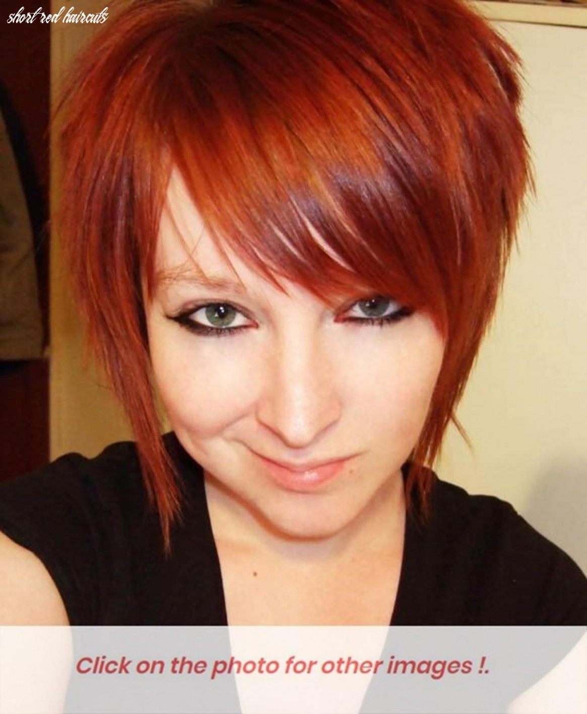 Pin on short red hair style short red haircuts