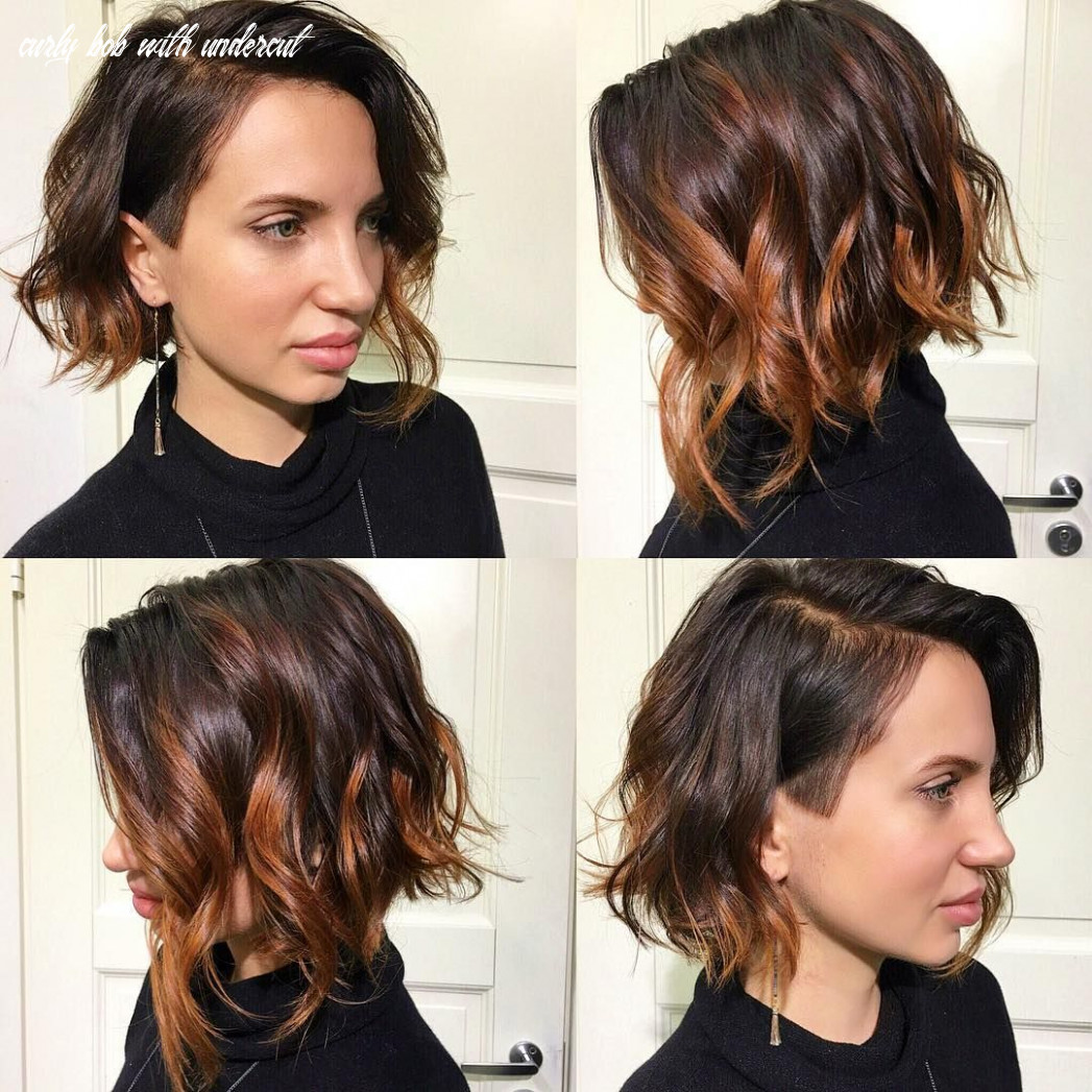 Pin on sidecuts curly bob with undercut