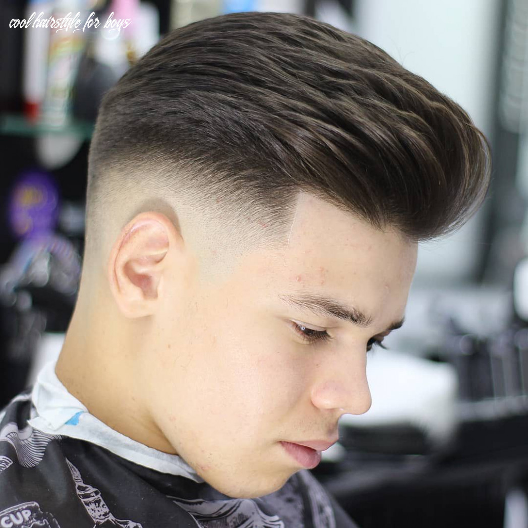 Pin on teen boy haircuts cool hairstyle for boys