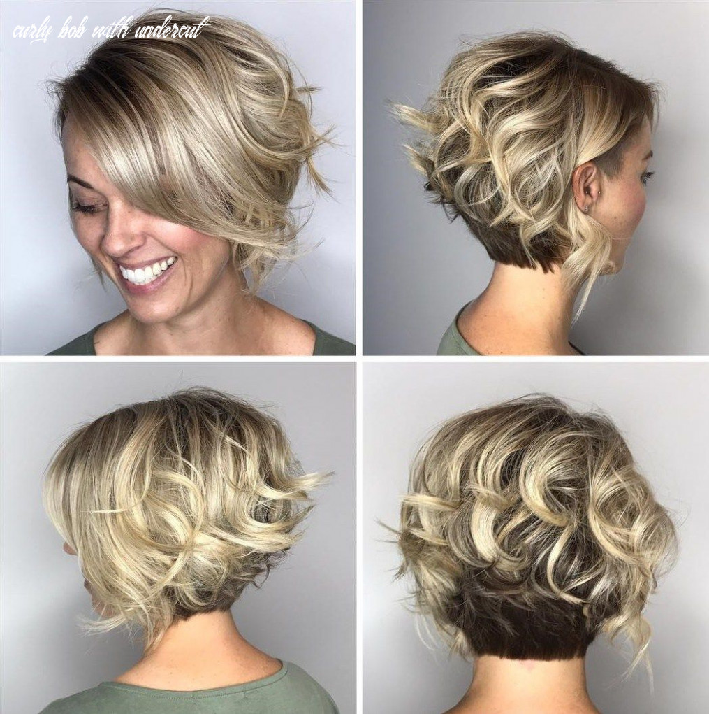 "Pin on the ""do"" curly bob with undercut"