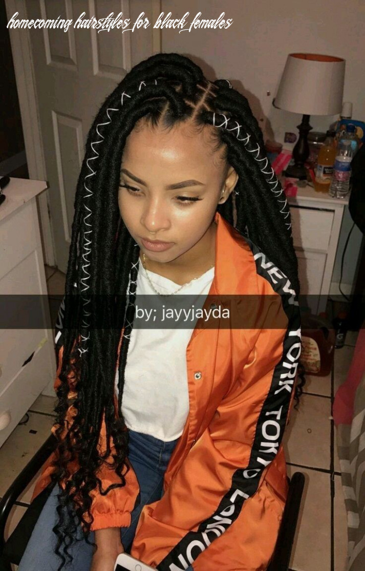 Pin on thick hair styles homecoming hairstyles for black females