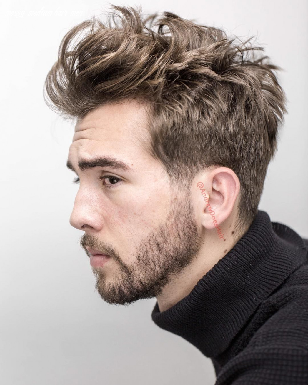 Pin on toddler haircuts messy medium hair men